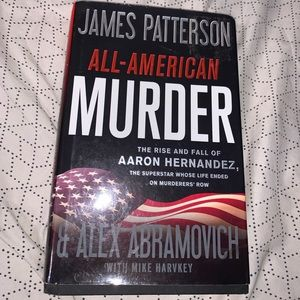 """James Patterson's """" All American Murder"""" Hardcover"""